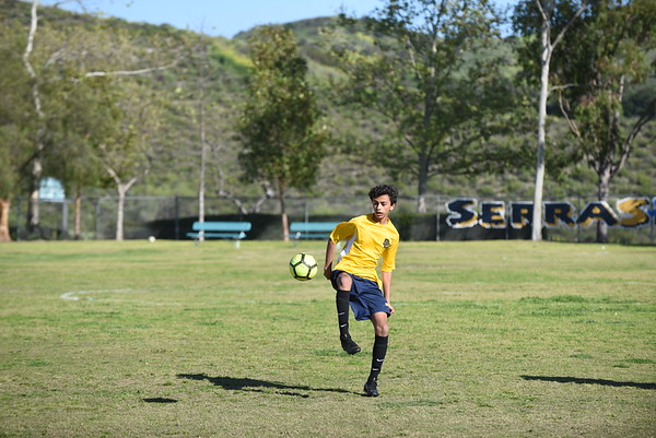 St. Serra vs SVCS 7th grade 3/28/2019