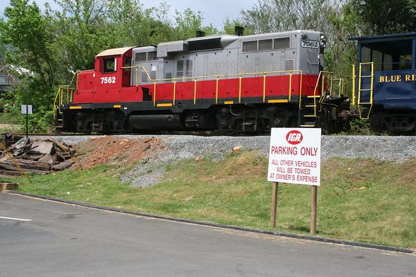 Day 2: Blue Ridge Scenic Railway - 6 May 2007