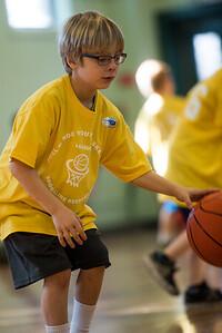 Mateo playing Basketball