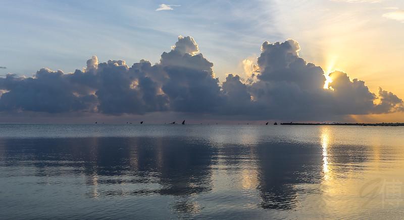Sunrise at Mocimboa da Praia - Mozambique