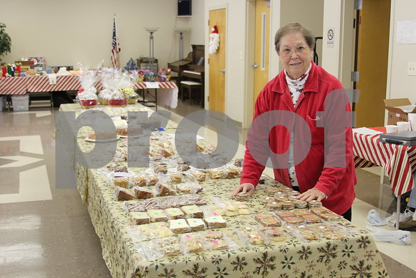 Clinchfield Senior Center Christmas Bazaar - December 2012