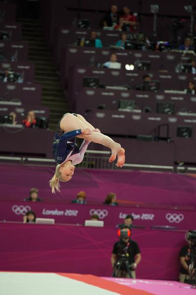 Annika Urvikko at London olympics 2012__29.07.2012_London Olympics_Photographer: Christian Valtanen_London_Olympics_Annika Urvikko at London olympics 2012_29.07.2012__ND40056_Annika Urvikko, finnish athlete, gymnastics