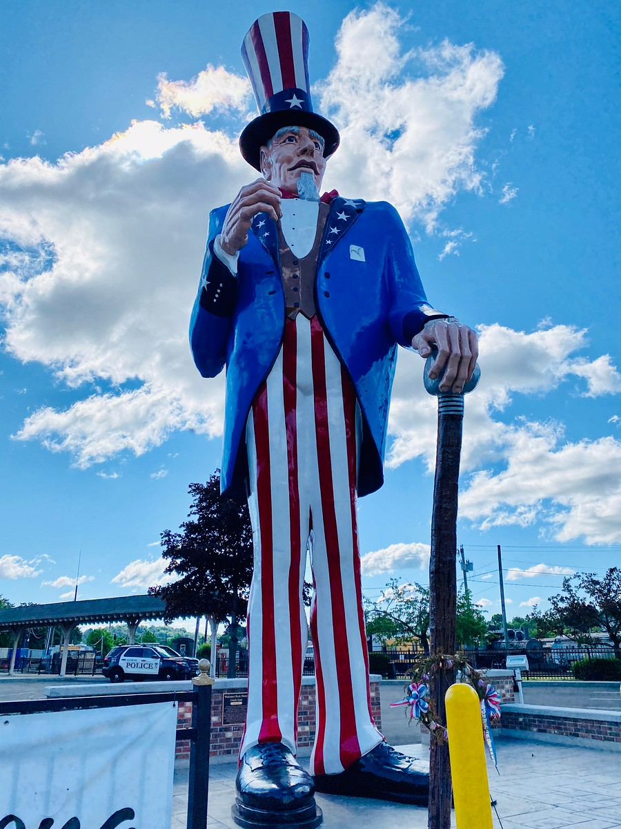 World's Tallest Uncle Sam in Danbury, Connecticut