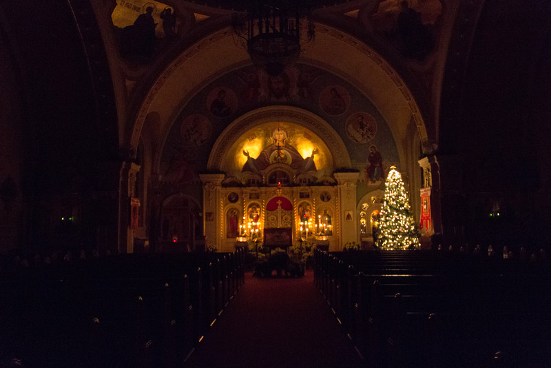 Cathedral at Christmas