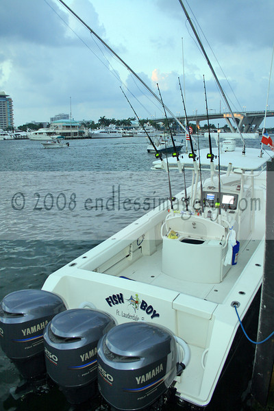 2008 ABC Gold Coast Fishing Classic - Morning Check-Out Port Everglades