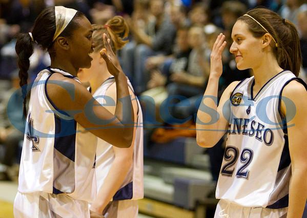 Women's Basketball SUNYAC Championship Game 2011
