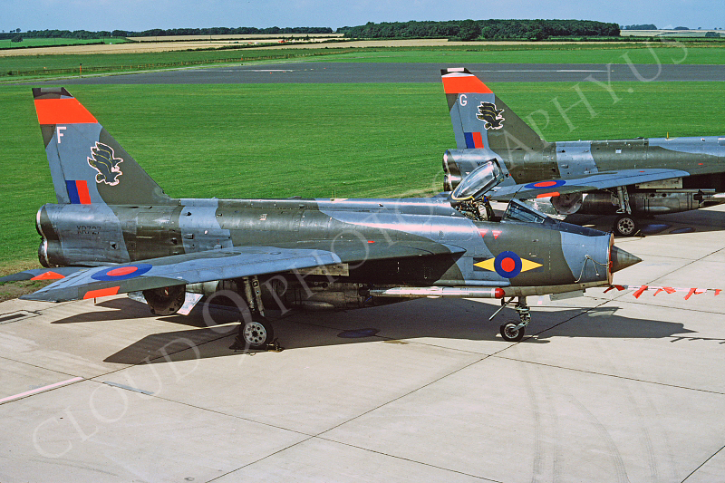 BAC Lightning 00003 BAC Lightning British RAF XR727 26 August 1978 by Wilfried Zetsche .JPG