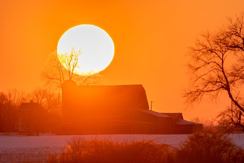 sunset over the Webber's barn 2-16-20-10.jpg