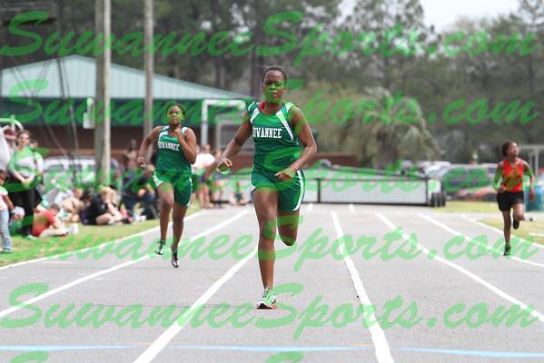 Suwannee High School Track 2012