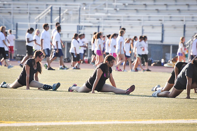 Aug 15, 2013 First Marching rehearsal