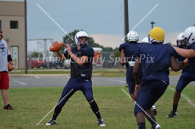 2012 Central Academy Cougars practice