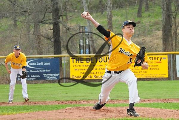 Baseball action JHS-WHS 2016