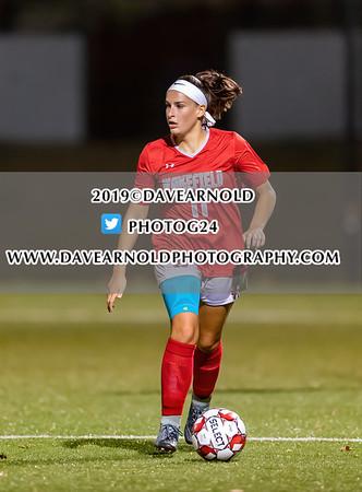 10/16/2019 - Girls Varsity Soccer - Wilmington vs Wakefield