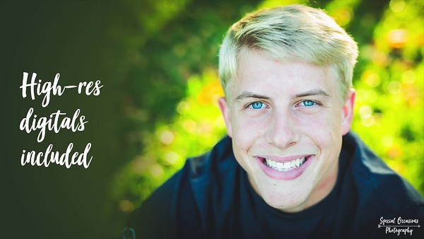 Special Occasions Photography Senior Promo