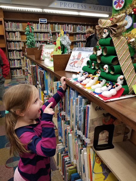 Enfield Library Festival of Trees 12-12-19