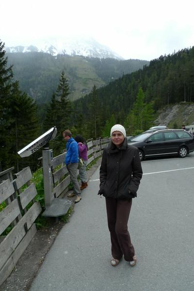 Mist, sneeuw en koud in Oostenrijk