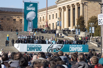 Eagles Super Bowl Parade - Philadelphia, PA - 2/8/18
