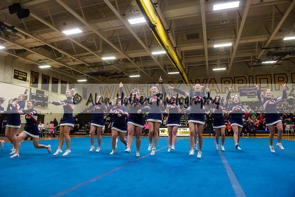 Cheer league meet at Waverly - Lakewood