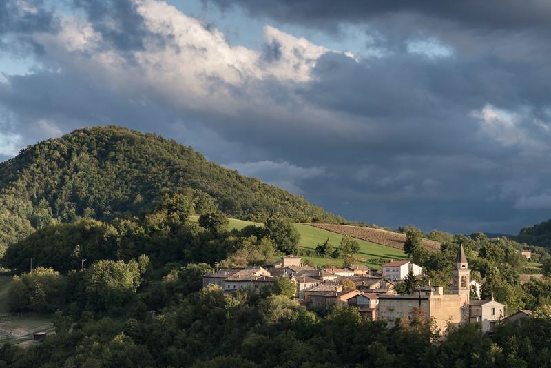 Ceredolo dei Coppi - Canossa, Reggio Emilia, Italy - September 23, 2015