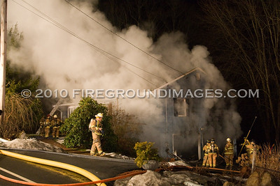 Maple St. Fire (Seymour, CT) 1/20/10
