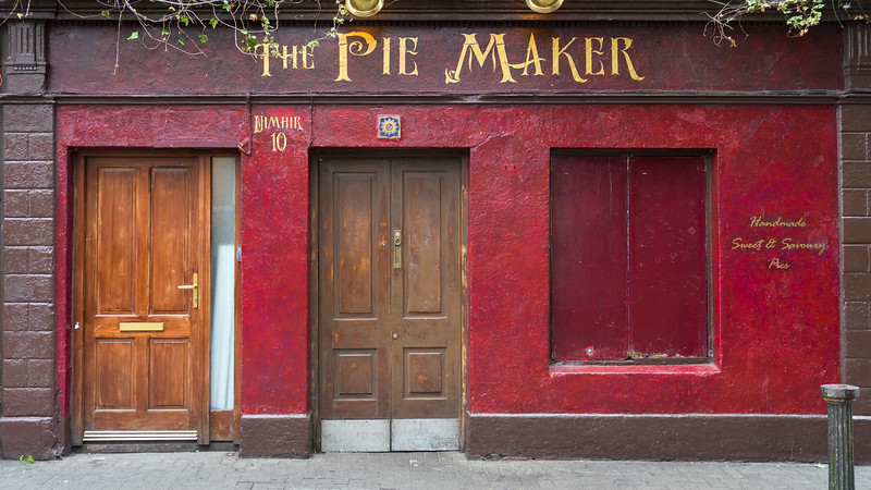 Fa�ade of store, Galway, County Galway, Republic of Ireland