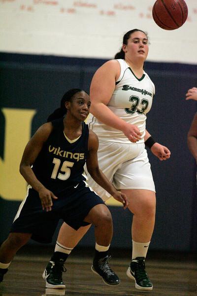 Girls' Basketball vs. Sacred Heart 2/07/13