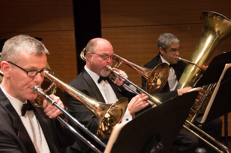 Mark Morgan, Doug Rogers, Blair Goins -- Symphony of the Potomac, January 29, 2017