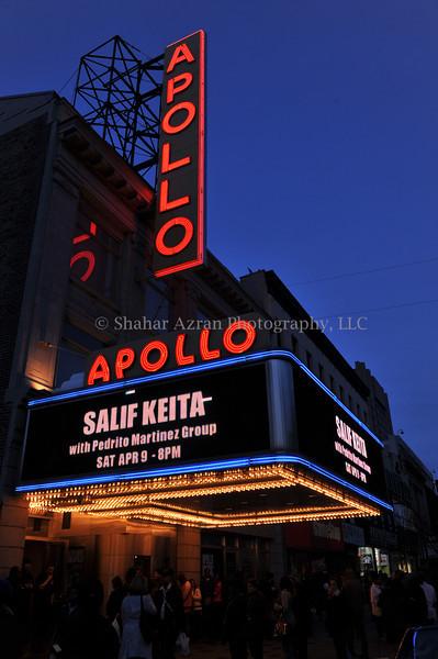 Salif Keita at the Apollo Theater