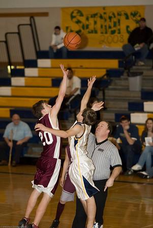 Forks High School vs. Montesano High School, mens jv, February 8, 2008