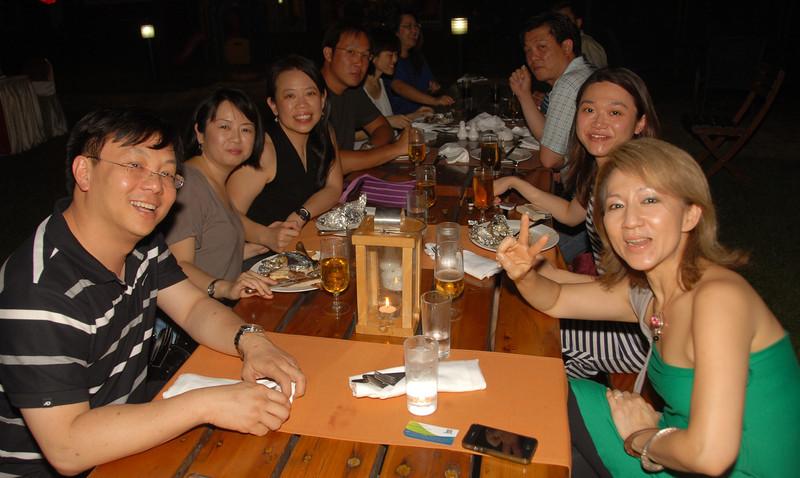 Left to Right (clock-wise): Kin Seng, Rachel, Fui Chu, Jerry, Siu Lian, Dan Fui, Chiang, Eong Hwee & Po Li ...