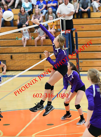 11-5-2016 - Northwest Christian v Snowflake Volleyball (AIA D3 Playoff)