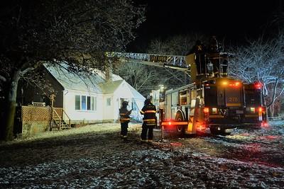 Chimney Fire - Huckleberry Hill - Avon, NY 12/3/18