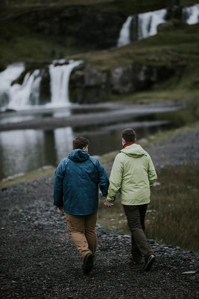 Ben + Kyle in Iceland
