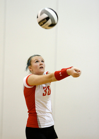SNHS Volleyball vs Frontier 2012