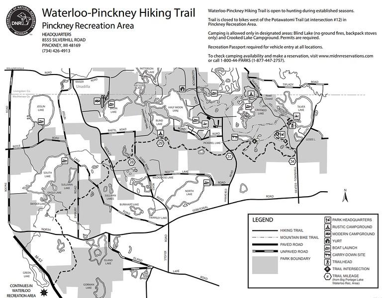 Waterloo Recreation Area (Pinckney Trail)