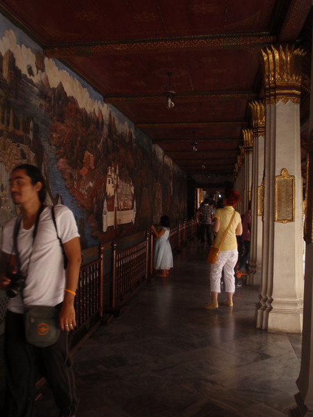 More of the Grand Palace frescos.