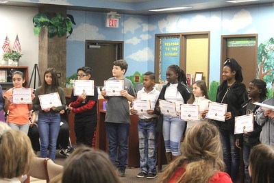 Center Intermediate students recognized by Center ISD Board of Trustees
