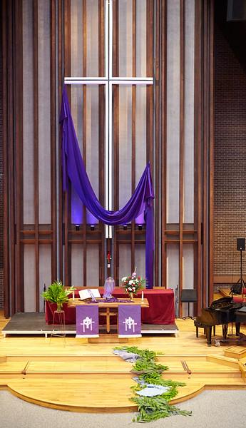 Mountain View UMC 03-29-2015 Palm Sunday 10:30 Service
