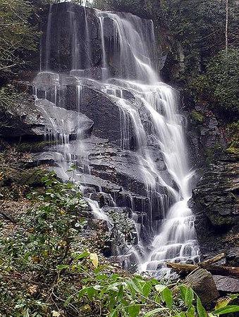 Eastatoe Falls NC near Lake Toxaway