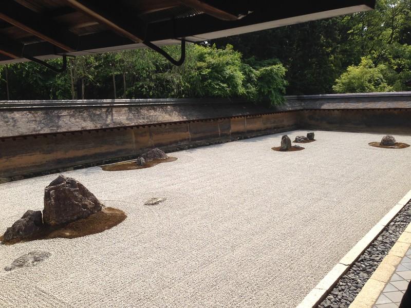 Ryoan-ji rock garden - Leslie Rowley S95