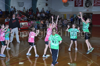 La Moille Girls BB Senior Night 2012, Game and Biddy Basketball