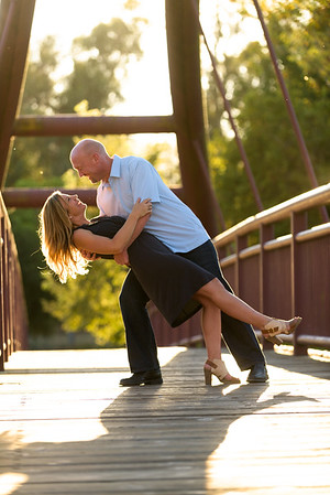 Sarah and Steve (Engagement / Family Photography) @ Vasona Park, Los Gatos