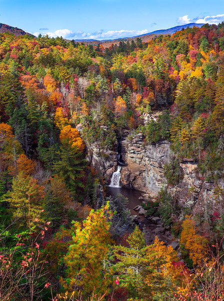 Fall Colors on Linville Falls