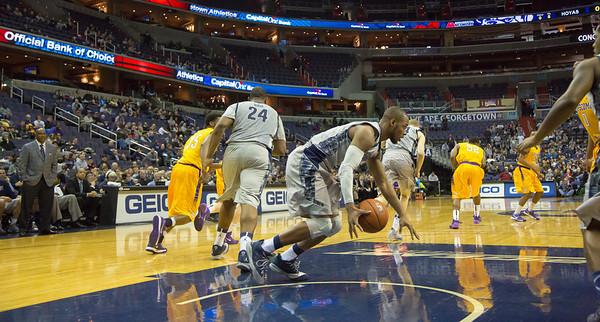 Georgetown vs Lipscomb basketball (11/30/13)
