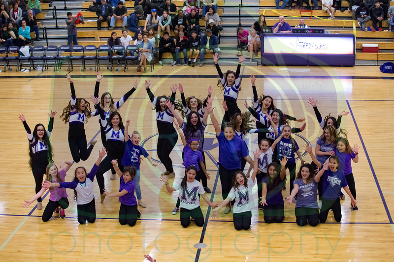 MHS Dance Halftime Show 2-16-17