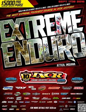 2016 IXCR Extreme Enduro