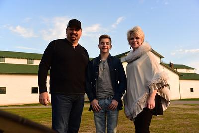 Joe, Sherry & Kaden Schmidt