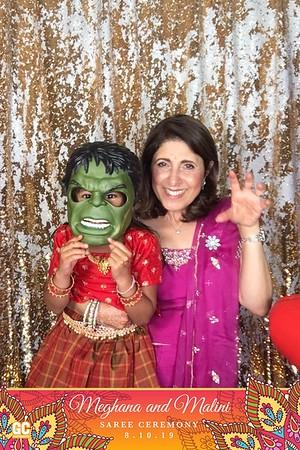 8-10-19 Meghana & Malini Saree Ceremony