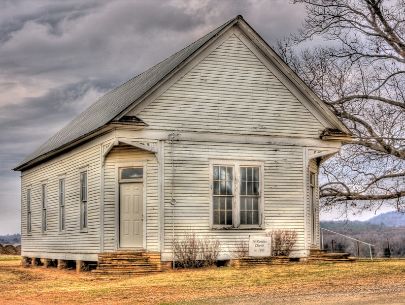 McKendree Church, ca. 1883 w. of Scranton, AR