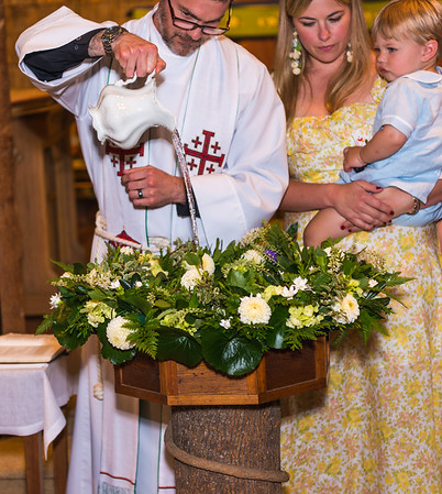 Rose Family Baptism